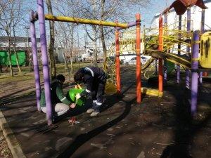Kocaeli'de çocuk oyun grupları bakımdan geçiyor
