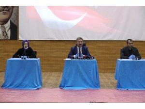 """Başkan Palancıoğlu: """"Otopark Yönetmeliği ile ilgili olarak işlemlerde yoğunluğun en aza indirilmesi öngörülmüştür"""""""