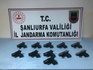 Şanlıurfa'da silah kapakçığı operasyonu: 1 tutuklama