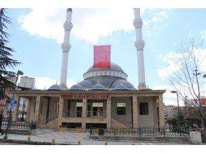 Malatya'da camilerde cuma namazı kılınmadı