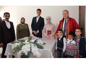 Sungurlu'da nikah törenlerine koronavirüs kısıtlaması