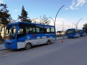 Belediye otobüsleri sağlık çalışanlarına ücretsiz oldu