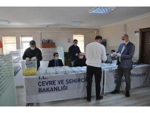 Şırnak'ta Korona virüs tedbirli kura çekimi