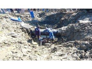 Sinop'ta kesilen su için çalışma başlatıldı