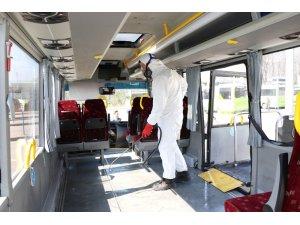 'Engelli Taksi'ler dezenfekte ediliyor