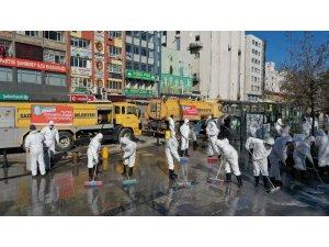 Gaziantep'te korona virüs mücadelesi