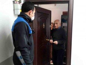 Balıkesir'de valilikten yaşlı vatandaşlara destek