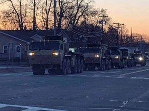ABD ordusu New York'ta sokağa indi