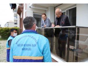 Menderes'te eve hizmet başladı