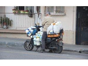 Aydın'da vatandaşlar doğal süte yöneldi