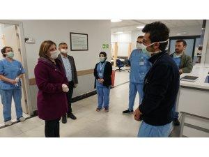 Başkan Hürriyet koronavirüs çalışmalarını sahadan yönetiyor
