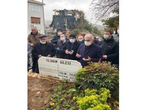 Binali Yıldırım'ın kayınvalidesinin cenazesi toprağa verildi