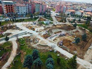 Malatya Sümer Park yenileniyor