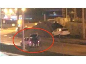 Samsun'da 2 kişi tarafından dövülerek aracın bagajına koyulan genci polis kurtardı