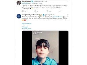 Genç sporcuların 'Evde kal Elazığ' klibine Melih Demiral'dan destek