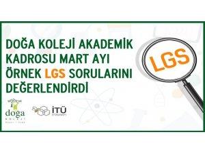 Mart ayı LGS örnek soruları değerlendirildi