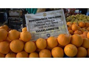 Kırıkkale'deki halk pazarlarında 3 metre kuralı