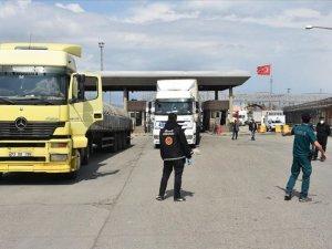 Habur Sınır Kapısı'nda Irak ile 'temassız' ticaret