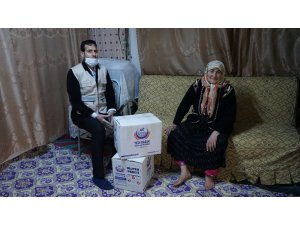 Gaziantep'te yaşlıların ve kimsesizlerin kaldığı evler dezenfekte ediliyor