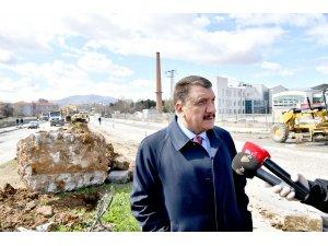 Başkan Gürkan, yol çalışmalarını inceledi