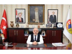 Çankırı'da ilk bağış Belediye Başkanından