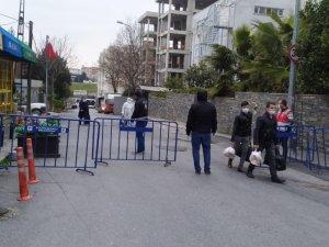 Florya Beşyol Kız Öğrenci Yurdu'nda karantinadaki vatandaşlar tahliye edildi