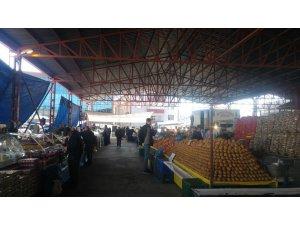 Perşembe beldesinde sadece gıda pazarı kurulacak