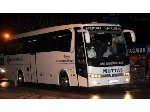 Azerbaycan'dan Muğla'ya gelen 150 kişi yurtlarda karantinaya alındı