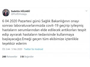 """Kocaeli Üniversitesi'nde """"immün plazma"""" elde edilmesi için çalışma yapılacak"""