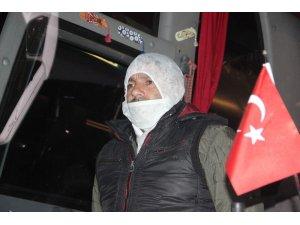 Irak'tan Türkiye'ye getirilen işçiler karantinaya alındı