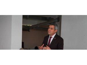 """İYİ Parti Büyükşehir Belediyesi Grup Başkan Vekili Yücel, """"Çiftçi heyeti oluşturulmalı"""""""
