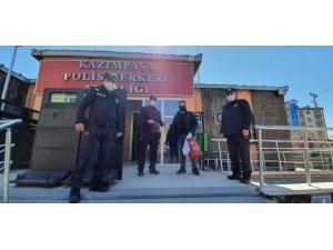 TÜGVA'dan polislere siperlik maske