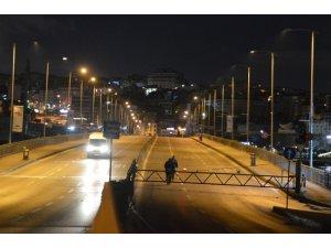 Atatürk Köprüsü, araç ve yaya trafiğine kapatıldı