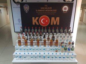 Van'da 73 şişe kaçak alkollü içecek ele geçirildi