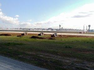 Atatürk Havalimanı'ndaki hastanenin kazı çalışmaları sürüyor