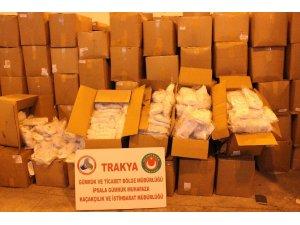Tıbbi koruyucu malzeme kaçakçılığına geçit verilmedi
