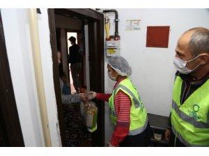Ordu'da ihtiyaç sahibi vatandaşlara gıda yardımı