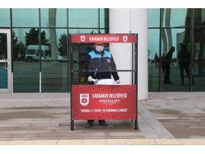 Karaman Belediyesi ücretsiz maske dağıtımını sürdürüyor