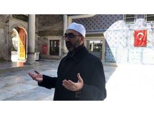 Eyüpsultan'da vatandaşlar duaya canlı yayından 'amin' dedi