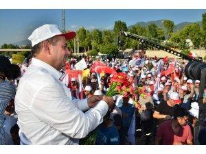 """Genel Başkan Değirmenci'den """"İzole üretim üssü"""" açıklaması"""