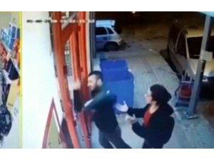 Genç kıza kabusu yaşattı, çalıştığı markete saldırdı
