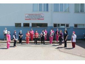 Süleymanpaşa Belediyesi Hemşireler Haftasında sağlıkçıları yalnız bırakmadı