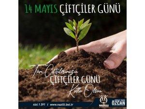 Başkan Özcan çiftçilerin gününü kutladı