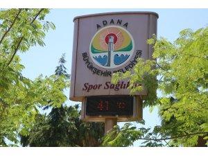Adana'da termometreler 41 dereceyi gösterdi