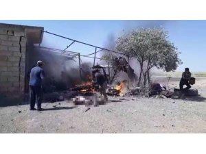 Resulayn'da bomba yüklü motosiklet patladı: 1 ölü, 2 yaralı