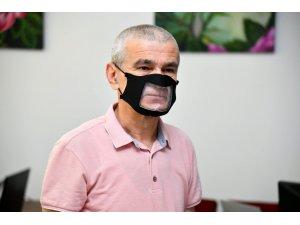 Isparta Belediyesi işitme engellilere özel maske üretti
