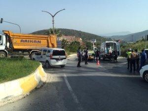 Kaza yapan kamyon şoförü tutuklandı