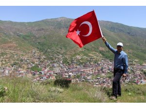 Başkan Saklı, Efkar Dağı'nda bayrak açtı