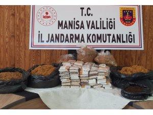 Salihli'de kaçak tütün satan 2 işyerine 31 bin lira ceza