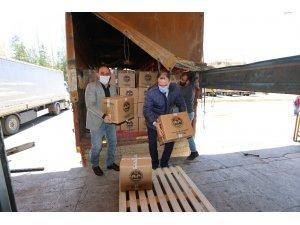 Erzurum'da Vakıf Haftası dolayısıyla bin 200 aileye gıda yardımı